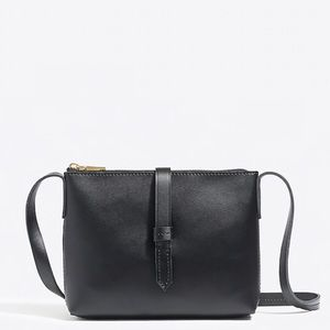 J. Crew Ryann Leather Crossbody Rectangle Bag